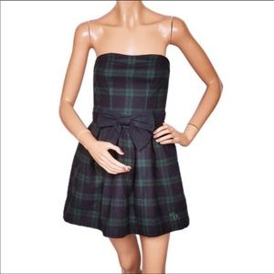 Abercrombie and Fitch sweetheart plaid dress